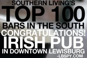 Irish Pub Lewisburg WV