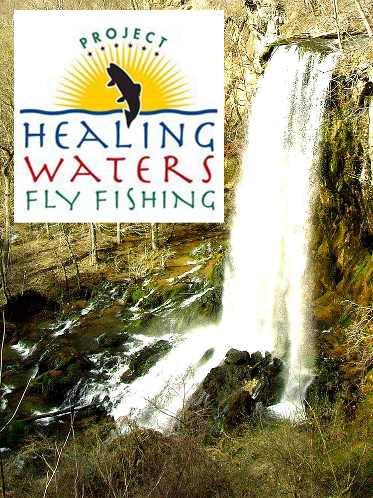 On the cover the real mark bowe from barnwood builders for Healing waters fly fishing