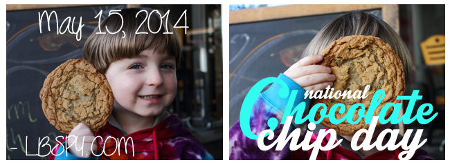 chocolate chip day 2014