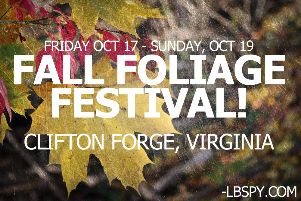 FALL FOLIAGE FEST 2014