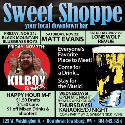 Sweet ShoppeNOVEMBER 2014