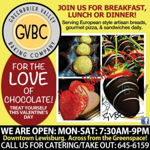 Greenbrier Valley Baking Company. Lewisburg, WV
