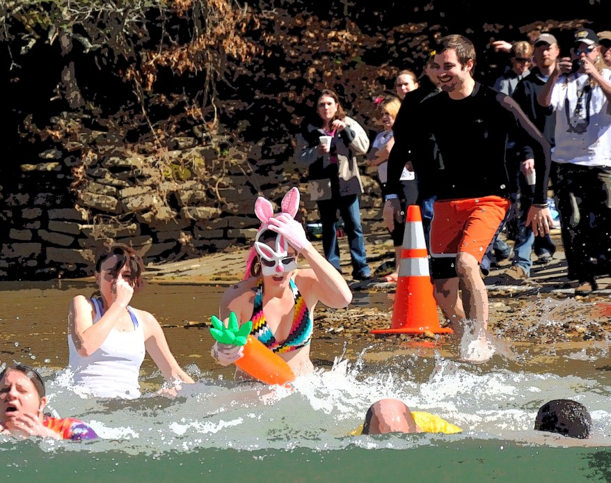 Greenbrier Valley Polar Bear Plunge, West Virginia