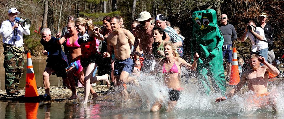 Greenbrier Valley Polar Bear Plunge. West Virginia