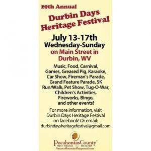 Durbin Days Festival WV