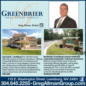 Greenbrier Real Estate Lewisburg, WV