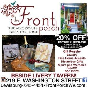 Front Porch Lewisburg WV