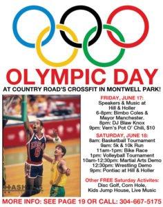 Olympic Day w/ Bimbo Coles