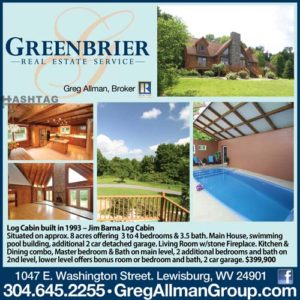 Greenbrier Real Estate Lewisburg WV