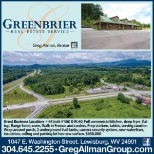 greenbrier real estate lewisburg wv
