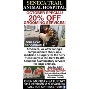 seneca-trail animal hospital lewisburg wv
