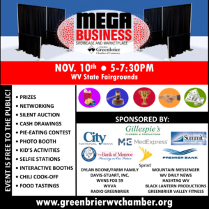 mega-business-2016 greenbrier chamber of commerce