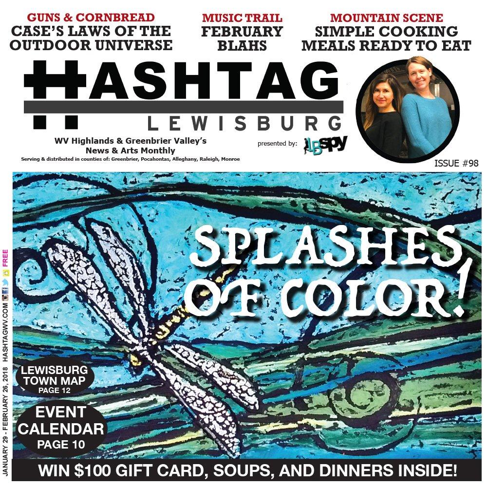 Nuggets Hashtag: Enjoy Splashes Of Color W/ HashtagWV This February